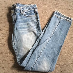 American Eagle stretch Skinny Jeans 10 Long